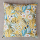 atelier kt lélé-coussin yellow jungle