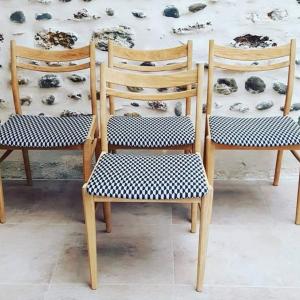 atelierktlele- lot 4 chaises années 60-4
